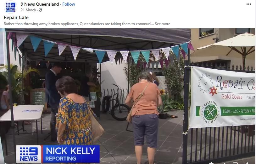 CH9 Repair Cafe Gold Coast segment