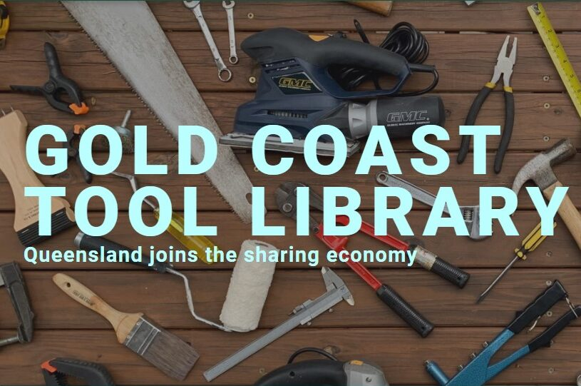 Planet Ark Gold Coast Tool Library article